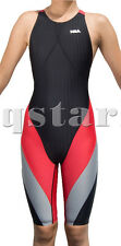FEMALE WOMEN RACING SWIMWEAR KNEESKIN KNEESUIT 3XL 38