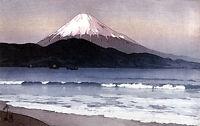 Fuji From Miho 15x22 Japanese Print by Yoshida Asian Art Japan Sushi
