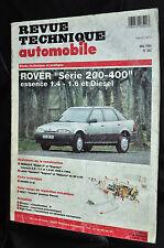 Revue technique automobile Rover série 200 et 400 esence et diesel N° 562
