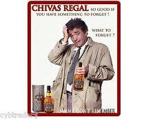 Chivas Regal Peter Falk Columbo  Refrigerator / Tool Box Magnet
