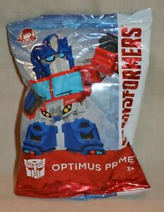 2019 Wendys Kids Meal Transformers Figures Optimus - NEW