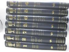 7 vol complete ENCYCLORAMA OF ISRAEL - rare ! Pictorial Encyclopedia of Israel