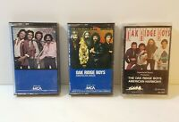 Oak Ridge Boys Lot of 3 Cassette Tapes Together American Made American Harmony