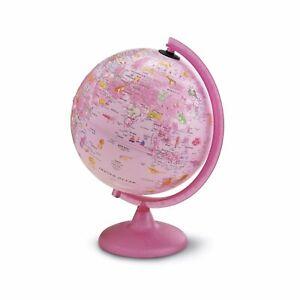 Nova Rico Zoo Pink Illuminated Globe 25cm