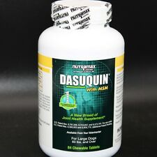New listing Dasuquin With Msm 84 Chewable Tablets Joint Health Supplement Large Dogs 60 Lbs+