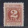 ESPAÑA (1937) NUEVO SIN FIJASELLOS MNH SPAIN - EDIFIL 815 (2 cts) - LOTE 3