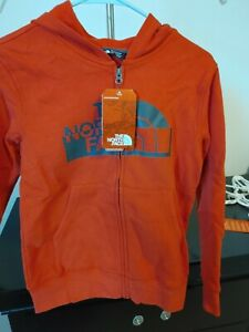 The North Face Boys Logowear Full Zip Hoodie Size M