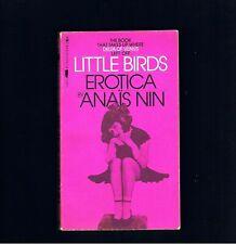 VINTAGE EROTICA ~ LITTLE BIRDS ~ ANAIS NIN ~ DELTA OF VENUS ~ LESBIANA ~ EX.COND
