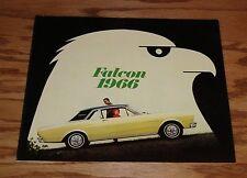 Original 1966 Ford Falcon Sales Brochure 66 Bird Cover