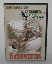 The Best of Gander Mtn- We Live Outdoors(DVD) 15 Action Packed Trips! Pre-Owned!