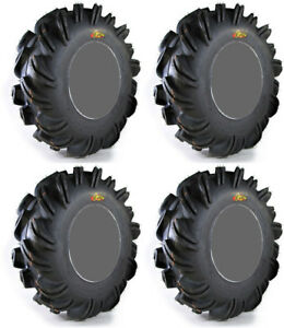 4 High Lifter Outlaw ATV Tires Set 2 Front 29.5x10-12 & 2 Rear 29.5x10-12