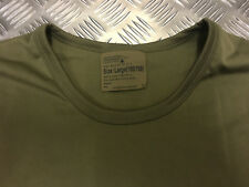 Genuine British Army Light Olive Thermal Long Sleeve Top - All Sizes - NEW
