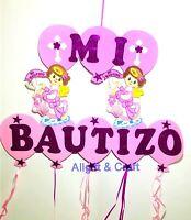 Baptism Favors Banner Boy Mi Bautizo Wall Decoration