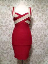 Clubwear Dresses for Women with Zipper Midi