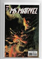 Ms. Marvel #17 Kubert Variant Marvel Comics