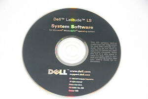 Dell Latitude LS System Software CD for Microsoft Windows NT 4.0
