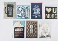 Lot of 7 Hallmark Signature Greeting Cards Life Fun Love Friendship 30 Thank You
