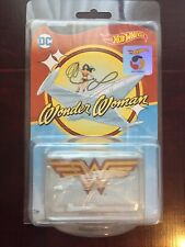 NEW Wonder Woman Invisible Jet Hot Wheels 2018 Limited Release Collector Edition