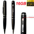 HD 1080P 16GB H.264 Spy Pen Hidden Camera Mini USB Video Recorder Camcorder DVR