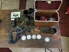 New ListingVintage Pentax Me Super 35mm Slr Film Camera and 2 Lens + Manual + Accessories