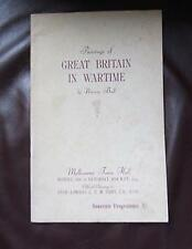 """Paintings of Great Britain in Wartime: """"The Exhibition of Paintings of WARTIM..."""