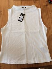 New With Tags Smart Top. Vest. Size 14. Cream. New Look. BNWT