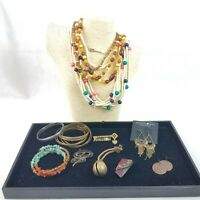 Vintage to Now Jewelry Treasures Lot Of 14 Pieces Wearable Sellable  Lot 202f