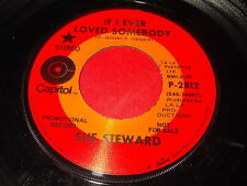 Sue Steward: If I Ever Loved Somebody / Lovin' Blues 45