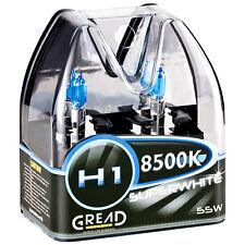 H1 BOX HALOGEN LAMPEN IN XENON OPTIK VON GREAD LIGHTS SUPER WHITE 8500K 55W