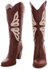 Jessica Simpson Caralee Women's Western Cowboy Boots Size 8.5 New $198