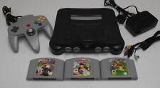 Nintendo 64 Console + Mario Kart, Mario 64, Diddy Kong Racing N64 PAL - Refurbed