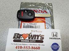 NEW GENUINE HONDA CROSSTOUR DRIVER 1 MASTER KEY 35118-TP6-A00 10-12