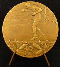 Médaille la boxe boxing le combat ring  jeux et Stade compétition 45 mm Medal