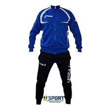 Tuta LEGEA completa da uomo ragazzo per ginnastica sportiva con azzuro nero S