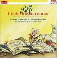 """ROLF ZUCKOWSKI """"LIEDERBÜCHERMAUS"""" CD NEU"""