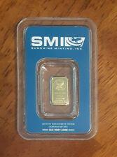 One (1) Gram Gold  Sunshine Mint .9999