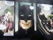 Batman Dark Knight returns 50x30 oil painting Joker Harley Quinn framing avail.