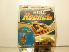 CORGI ROCKETS ASTON MARTIN DB6 - GOLD METALLIC L7.2cm - CARD-BLISTER