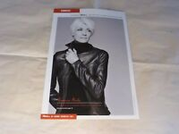 FRANCOISE HARDY - Mini poster Noir & blanc 2 !!!