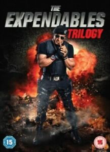 The Expendables 1 2 3 Trilogy One Two Three (Sylvester Stallone) Region 2 DVD