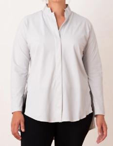 Aday - Shirt Long Sleeves Something Borrowed Grey S = 36 - New
