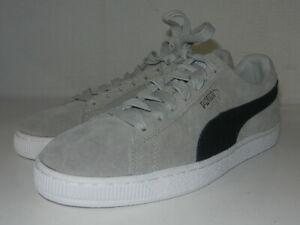 Puma Suede Grey/black 36324203   MEN'S SIZE 9
