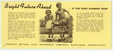 Phoenix Mutual Life Insurance Co. of Hartford, CT.  advertising  blotter