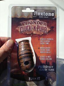 Flextone Thunder Cluck-N-Purr Turkey Call Hunting ~ FG-TURK-00111 ~ NEW Sealed