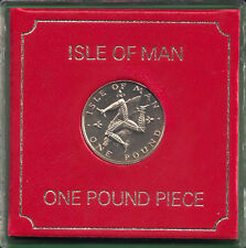 Isle of Man Manx 1982 Percy's £1 Triskeles over Island Cased DM AA