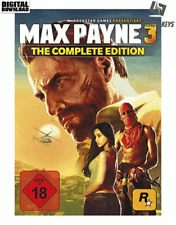 Max Payne 3 Complete Edition Steam Download Key Digital Code [DE] [EU] PC