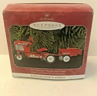 Hallmark Keepsake Ornament 1955 Murray Tractor and Trailer #5 in Series 1998