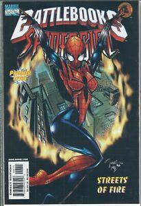 BATTLEBOOKS SPIDER-GIRL #1 1998 cards included NEW!