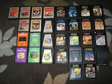 RANDOM ATARI 2600/7800 2 GAME LOT  100'S OF TITLES! SOME RARES