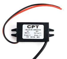 12V to USB 5V 3A 15W Converter Regulator Step Down for Auto Car GPS Smartphone